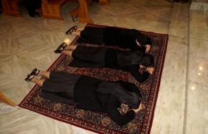 Bei der Ewigen Profess binden sich die Schwestern fest an das Leben in der Gemeinschaft