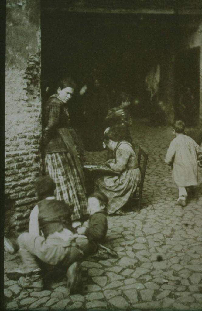 Soziale Missstände in Rom zur Zeit Sr. M. Franziska Streitels