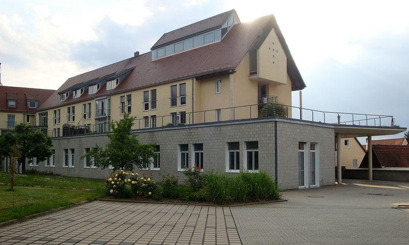 Das Schwesternwohnheim von außen